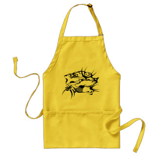 Tribal Tattoo Squeezed Adult Apron