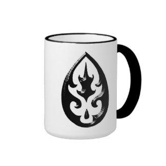 Tribal Tattoo Teardrop Mug