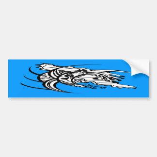 Tribal Tattoo Untitled 2 Bumper Sticker