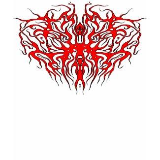 Tribal Tattoo Valentine Heart shirt