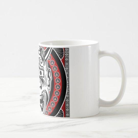 Tribal Tattoos With Image Mask Tribal Design Coffee Mug