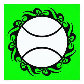 tribal tennis ball card