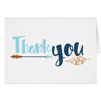 Tribal Thank You Card