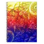 Tribal Three Spiral Notebooks