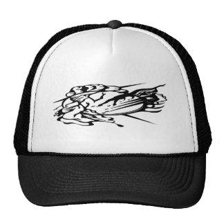 Tribal Thunder Cloud Tattoo Trucker Hat