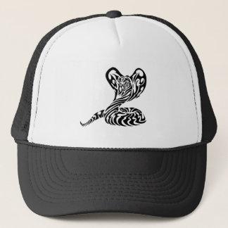 Tribal Tiger Head Cobra.png Trucker Hat