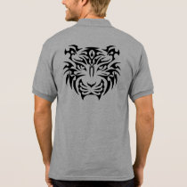 Tribal Tiger Polo Shirt