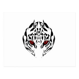 Tribal tiger postcard
