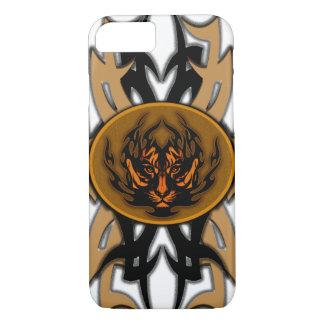 tribal tiger symbol emblem iPhone 8/7 case