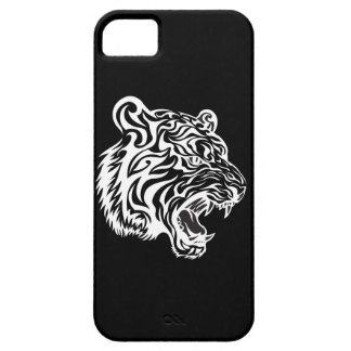 Tribal Tiger Tatto Black and White 2 iPhone SE/5/5s Case