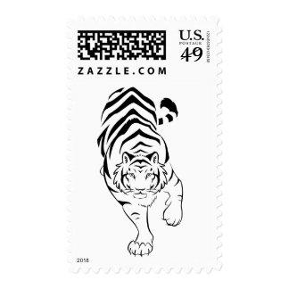 Tribal Tiger USPS Stamps