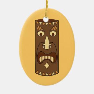 Tribal Tiki God Ornament