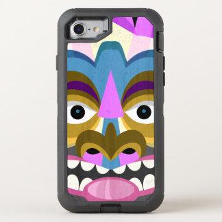 Tribal Tiki Hawaiian Luau OtterBox Defender iPhone 8/7 Case