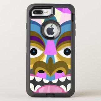 Tribal Tiki Hawaiian Luau OtterBox Defender iPhone 8 Plus/7 Plus Case
