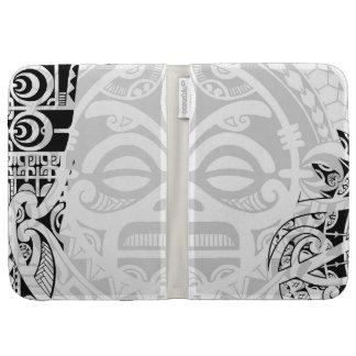 Tribal tiki totem face mask tatoo design Polynesia Case For The Kindle