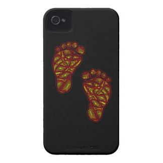Tribal Toes Blackberry Bold Case