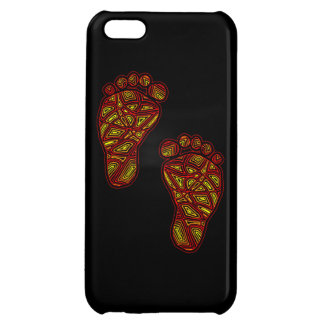 Tribal Toes Cover For iPhone 5C