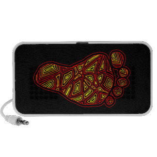 Tribal Toes Mini Speakers