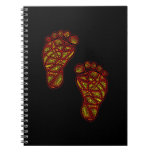 Tribal Toes Notebook