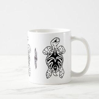 tribal tortoise sketch mugs