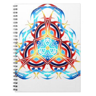 tribal triforce notebook