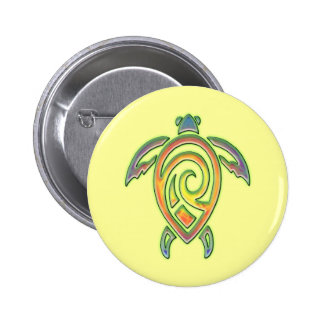 TRIBAL TURTLE DESIGN PIN