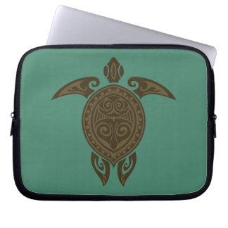 Tribal Turtle Laptop Sleeve