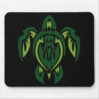 Tribal Turtle Mouse Pad