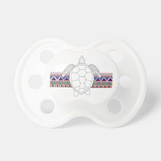 Tribal Turtle Pacifier