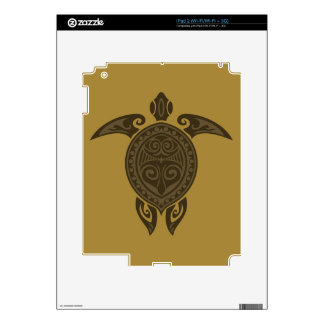 Tribal Turtle Decals For iPad 2