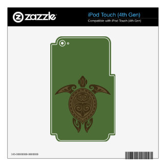 Tribal Turtle iPod Touch 4G Skins