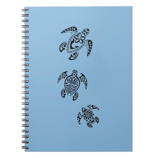 Tribal Turtle Trio Design Notebook