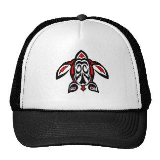 Tribal Turtle Trucker Hat