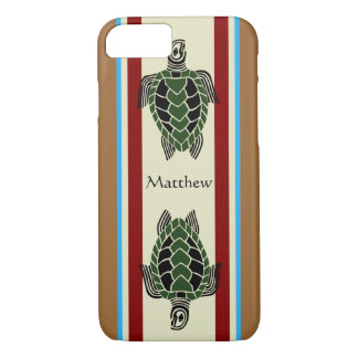 Tribal Turtles iPhone 7 Case