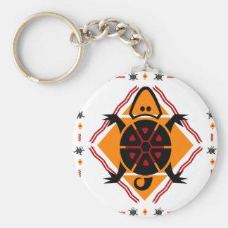 tribal-turtles key chains
