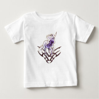 Tribal unicorn tattoo design baby T-Shirt