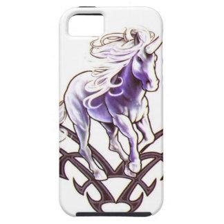 Tribal unicorn tattoo design iPhone SE/5/5s case