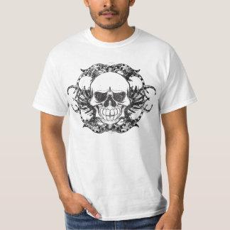 Tribal Urban skull Remera