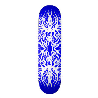 Tribal Valetine Heart Arteries Tattoo skateboard