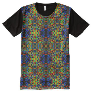 Tribal Visions Psychedelic Abstract Pattern Shirt