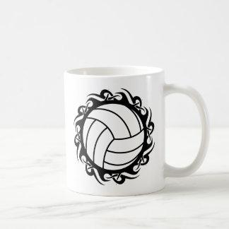 tribal volleyball coffee mug