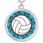 tribal volleyball custom jewelry