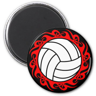 tribal volleyball magnet
