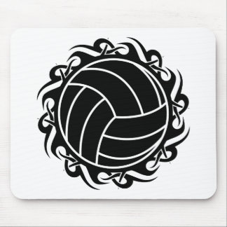 tribal volleyball mouse pad