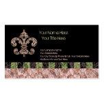 Tribal Voodoo Fleur de lis Business Card
