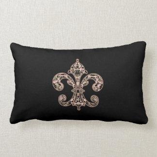 Tribal Voodoo Fleur de lis Lumbar Pillow