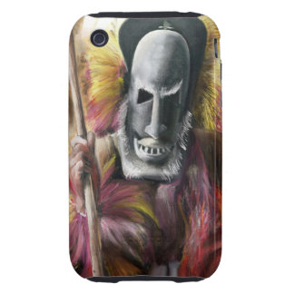 Tribal Warrior painting iPhone 3G case Tough iPhone 3 Case
