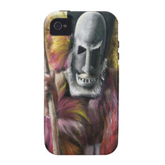 Tribal Warrior painting iPhone custom mate case iPhone 4/4S Case