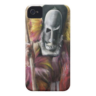 Tribal Warrior painting iPhone mate case iPhone 4 Case-Mate Case