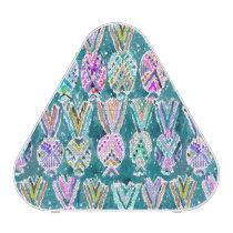 Tribal Watercolor Pineapple Pattern PERSONALIZED Speaker